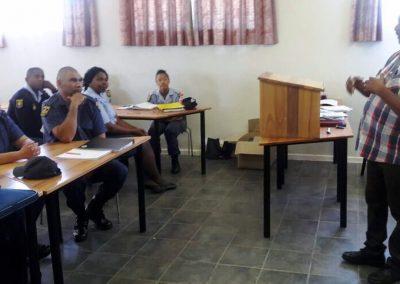 Oudtshoorn SAPS Training Presentation 2