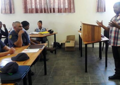 Oudtshoorn SAPS Training Presentation 5